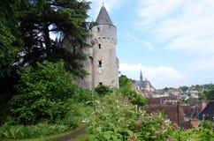 Castello di Montresor nel Loire Valley, Fotografia Stock Libera da Diritti