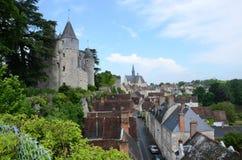 Castello di Montresor nel Loire Valley, Immagini Stock