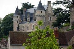 Castello di Montresor nel Loire Valley Fotografie Stock Libere da Diritti