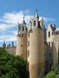 Castello di Montreuil Bellay, Francia. Fotografie Stock Libere da Diritti