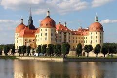 Castello di Moritzburg fotografie stock libere da diritti