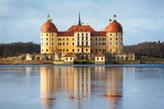 Castello di Moritzburg Fotografie Stock