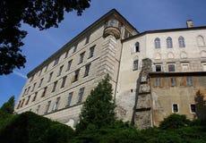 Castello di Namest nad Oslavou Fotografia Stock Libera da Diritti