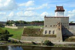 Castello di Narva Fotografia Stock