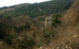 Castello di Neidpath Fotografie Stock Libere da Diritti