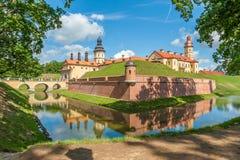 Castello di Nesvizh Fotografie Stock