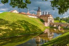 Castello di Nesvizh Immagini Stock Libere da Diritti