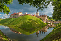 Castello di Nesvizh Fotografia Stock