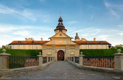 Castello di Nesvizhsky, regione di Minsk, Bielorussia Fotografia Stock Libera da Diritti