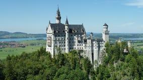 Castello di Neuschwandstein Fotografia Stock
