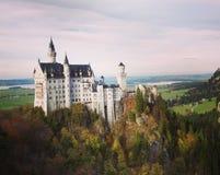Castello di Neuschwanstein immagine stock libera da diritti