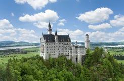 Castello di Neuschwanstein Fotografie Stock Libere da Diritti