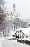 Castello di Neuschwanstein Fotografia Stock