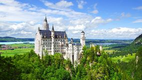 Castello di Neuschwanstein. Immagine Stock