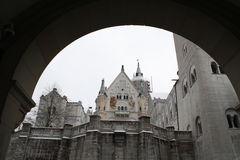 Castello di Neuschwanstein Immagine Stock