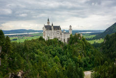 Castello di Neuschwanstein Immagine Stock