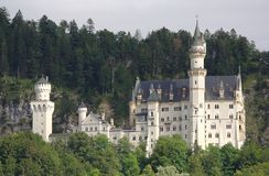 Castello di Neuschwanstein in Baviera Immagine Stock