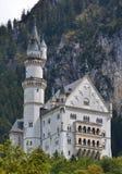 Castello di Neuschwanstein in Baviera, Germania Fotografie Stock