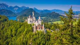 Castello di Neuschwanstein, Baviera, Germania Immagine Stock Libera da Diritti