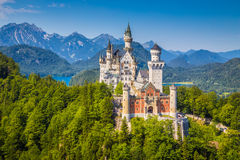 Castello di Neuschwanstein, Baviera, Germania Fotografia Stock