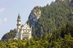 Castello di Neuschwanstein, Germania Fotografie Stock Libere da Diritti