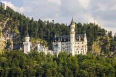 Castello di Neuschwanstein, Germania Fotografia Stock