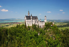 Castello di Neuschwanstein in Germania Immagine Stock