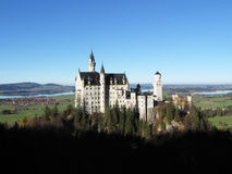 Castello di Neushchwanstein Fotografia Stock Libera da Diritti