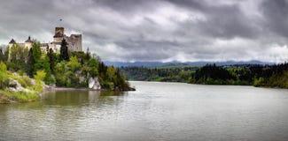 Castello di Niedzica Immagine Stock Libera da Diritti