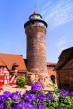 Castello di Norimberga fotografie stock libere da diritti