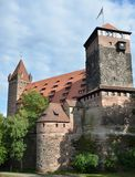 Castello di Norimberga Immagini Stock