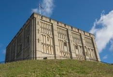 Castello di Norwich, Norfolk, Inghilterra immagini stock