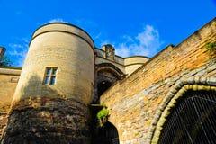 Castello di Nottingham Fotografia Stock