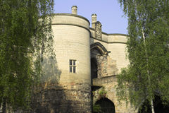 Castello di Nottingham immagini stock libere da diritti