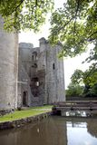 Castello di Nunney Fotografia Stock