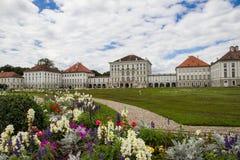 Castello di Nymphenburg immagine stock
