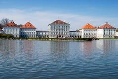 Castello di Nymphenburg Immagini Stock Libere da Diritti