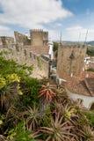 Castello di Obidos Fotografie Stock