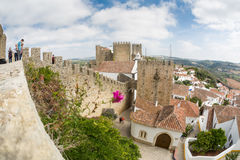 Castello di Obidos Fotografia Stock Libera da Diritti