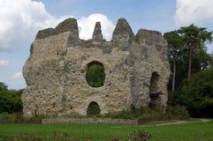 Castello di Odiham, Hampshire Fotografia Stock