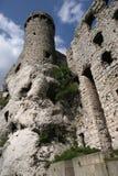 Castello di Ogrodzieniec Fotografie Stock Libere da Diritti