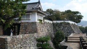 Castello di Okayama Fotografia Stock Libera da Diritti
