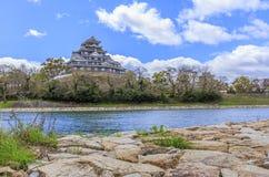 Castello di Okayama Immagine Stock