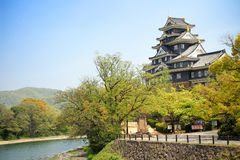 Castello di Okayama Immagini Stock