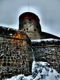 Castello di Olavinlinna immagini stock libere da diritti