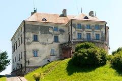 Castello di Olesko, Ucraina Fotografia Stock