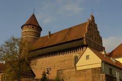 Castello di Olsztyn Immagini Stock