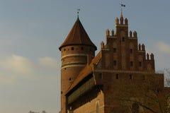 Castello di Olsztyn Immagine Stock