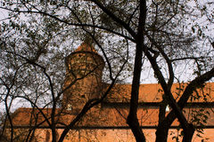 Castello di Olsztyn Fotografie Stock