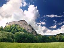Castello di Orava Immagine Stock Libera da Diritti